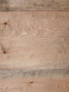 Plancher de pin rouge - Black walnut 2