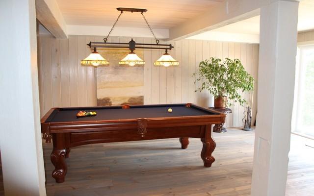 salle de jeux en bois