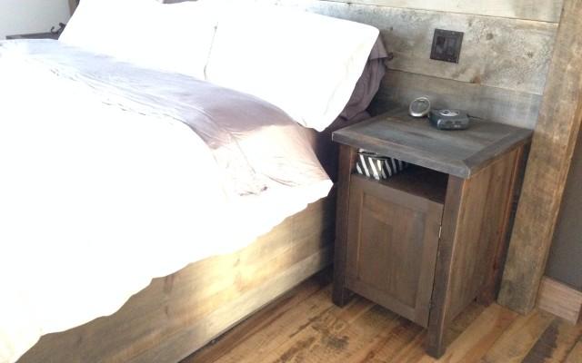R alisations bois excel - Tete de lit bois gris ...